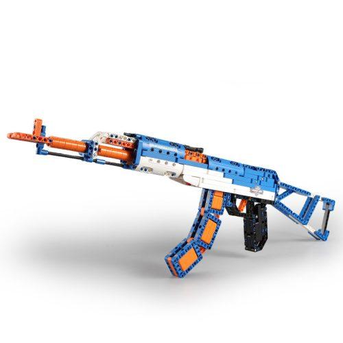 LEGO kompatibilis AK47 gépkarebély a Double Eagle -től  - Összerakós, 498 db-os szett, polifoam lövedékkel