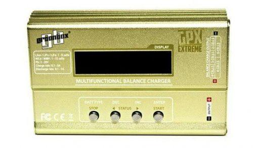 GPX Greenbox ballanszos akkumulátor töltő 2,3,4,5,6 cellás  LiPo, LiFe, LiIon, NiMH, NiCD, Pb akkukhoz.