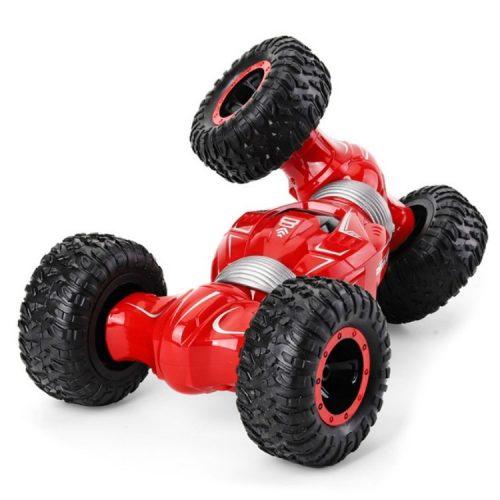 JJR/C Q70 Twist -  kétoldalas (double sided) sivatagi off road buggy, nagy sebességű hegymászó autó - piros