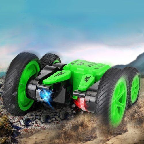 JJR/C Q71 -  2.4G kétoldalas (Double Sided) kaszkadőr autó, pörög és világít