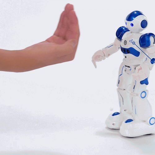 JJ/RC R2 CADY WISO kézmozdulatokkal irányítható RC robot - kék