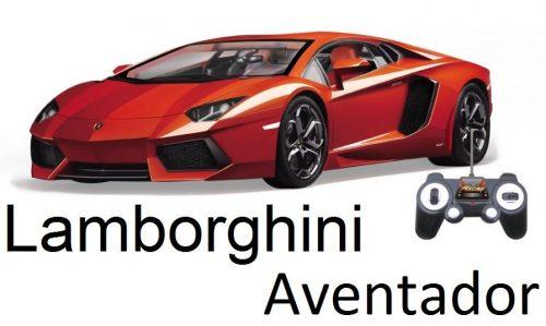 Lamborghini Aventador távirányítós autó: 1:14, 320 mm hossz, igényes kinézet!