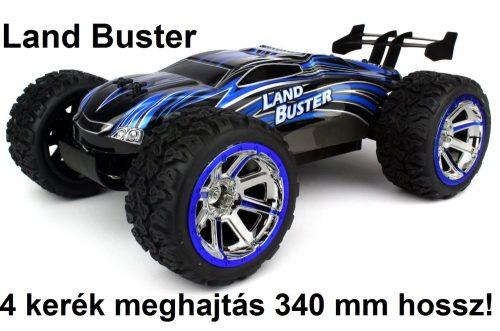 Land Buster 4WD 4 kerék meghajtás, Li-ion akkuval, 340 mm hossz Monster Truck távirányításos RC autó