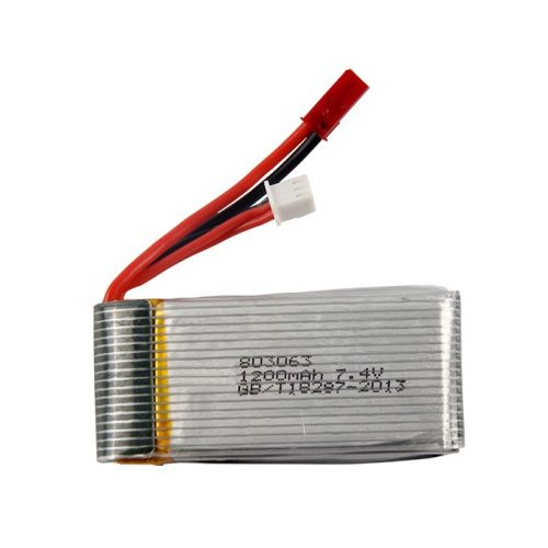 1200 mAh 7.4 volt akkumulátor MJX X101 -es drónhoz
