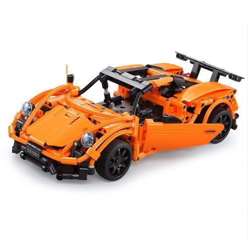 LEGO kompatibilis távirányítós Porsche 918 (C51051W) a Double Eagle -től  - Összerakós, 421 db-os szett. 6 km/h, 25 méteres hatótáv!