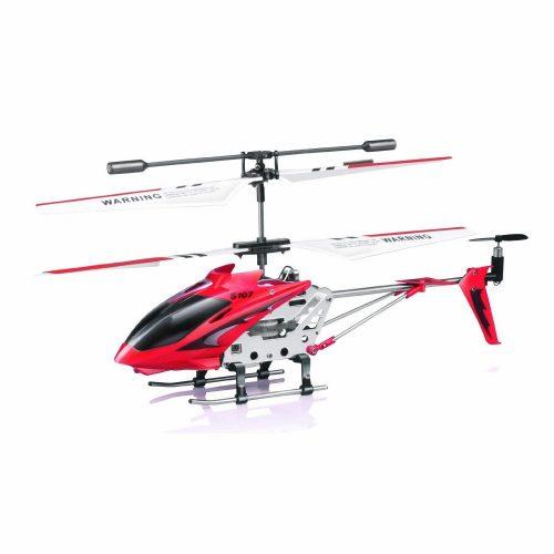 Syma 107G beltéri, távirányítós helikopter, 3 csatorna, nagy sebesség dupla rotor 203 mm-es méret