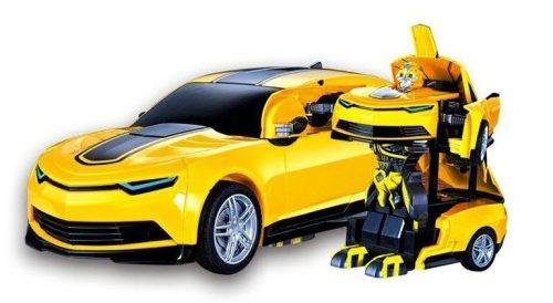 Távirányítós Transformers - Űrdongó. A távirányítóról vezérelhetően alakul át, autóként és robotként is funkcionál!