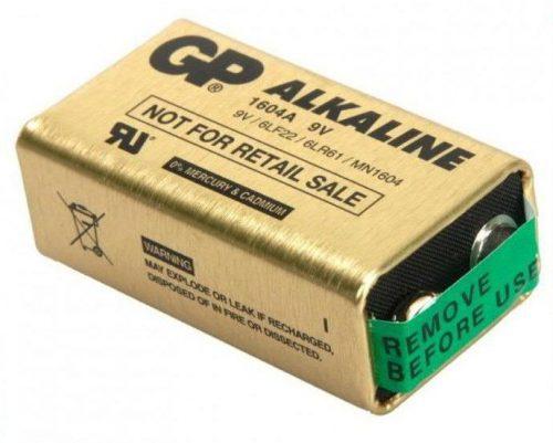 Elem 9V GP Ultra Alkaline battery (1db)