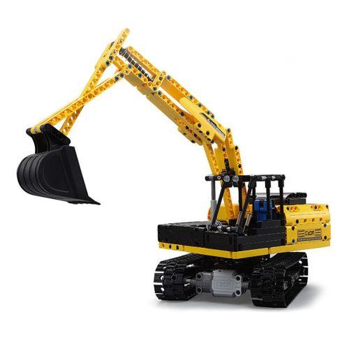 LEGO kompatibilis távirányítós kanalas markoló a Double Eagle -től  - Összerakós, 544 db-os szett. 2.1 km/h, 25 méteres hatótáv!
