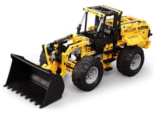 LEGO kompatibilis távirányítós markoló a Double Eagle -től  - Összerakós, 491 db-os szett. 2.9 km/h, 25 méteres hatótáv!