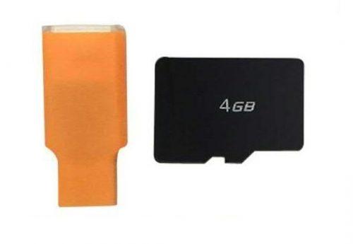 Syma X8 Pro gyári SD kártya (4GB) + SD kártyaolvasó