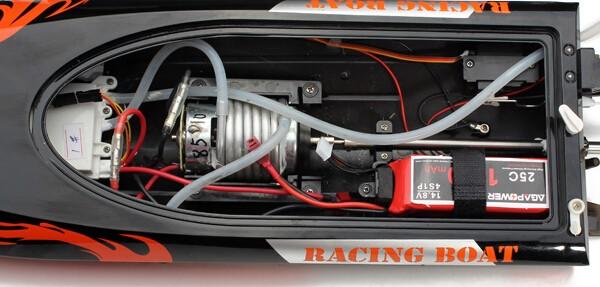 RC motorcsónak Double Horse FT010 vízhűtés