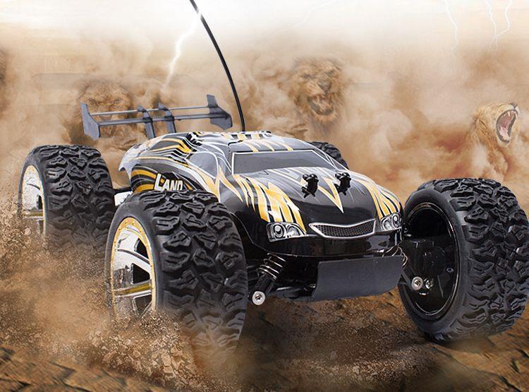 Land Buster - 4 kerék meghajtású távirányítós monster truck