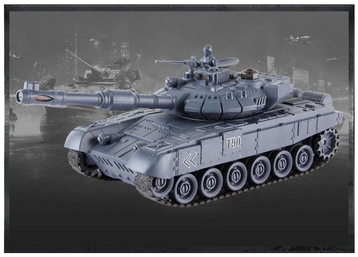 Orosz T-90 távirányítós modell tank