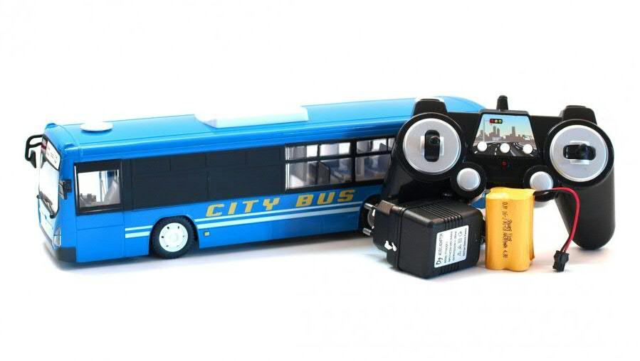 távirányításos busz